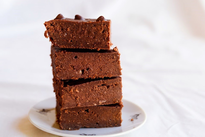 chickpea gluten free brownies-11133