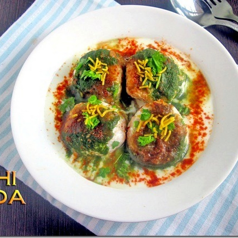 Chitras food book i wanted to try dahi vadadahi bhalla a famous north indian street food for long time i love thayir vada i thought both are same but forumfinder Images