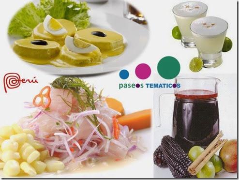 Peru, Comida Peruana, paseos tematicos; Gourmet Urbano; Food; el color comunica; color, sabor, viajes, turismo, Marca Pais peru