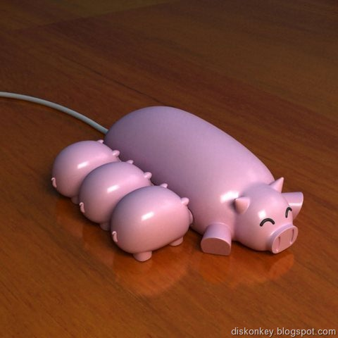 Pig USB flash drive 2