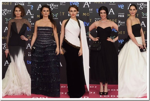 Premios Goya 2015 alfombra roja (3)