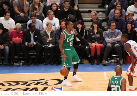'Taken at the Knicks-Celtics Game on 12/25/11' photo (c) 2011, kowarski - license: http://creativecommons.org/licenses/by/2.0/