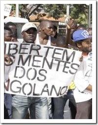 manifestacao em angola