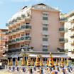 Vista dell\'hotel Nizza dalla spiaggia