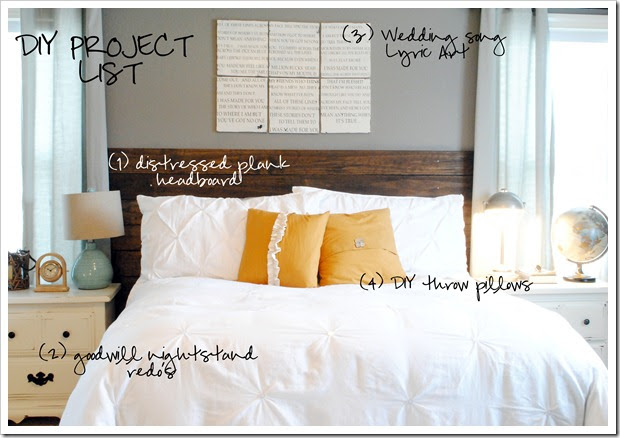 Diy projects bedroom