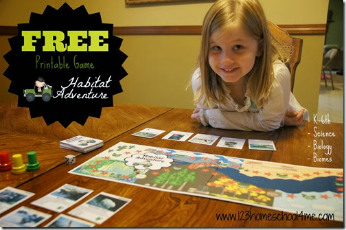 FREE Biome Science Game for kids