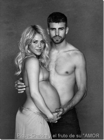"""Pique-Shakira y el fruto de su """"AMOR"""""""