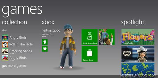 Xbox Games Panorama