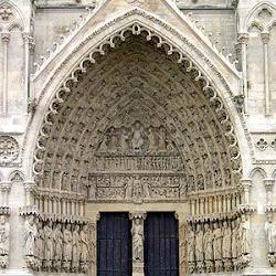 73 - Pórtico de la Virgen Dorada de la Catedral de Amiens