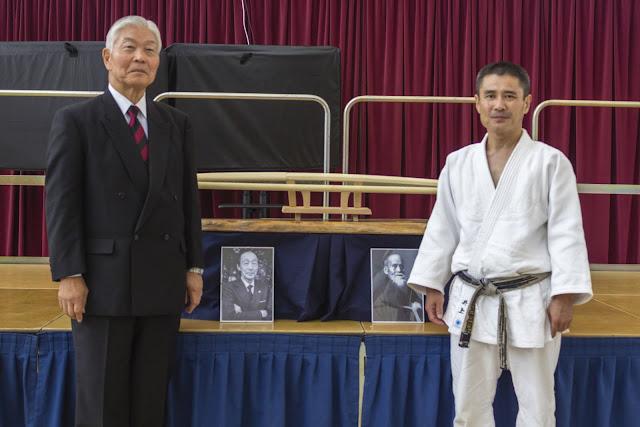 Tetsu Ehara Shihan and Yoshiomi Inoue Sensei