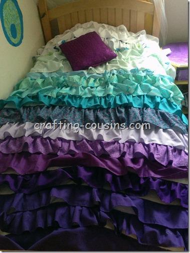 Ruffle Bedspread (3)