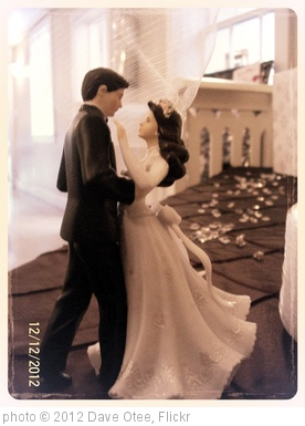 'Amandas Wedding Cake Topper' photo (c) 2012, Dave Otee - license: http://creativecommons.org/licenses/by-sa/2.0/