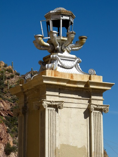 Coolidge Dam Lamp