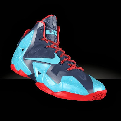nike lebron 10 id options preview 1 07 Preview LeBron XI iD... Galaxy, Glow in the Dark, and Much More!