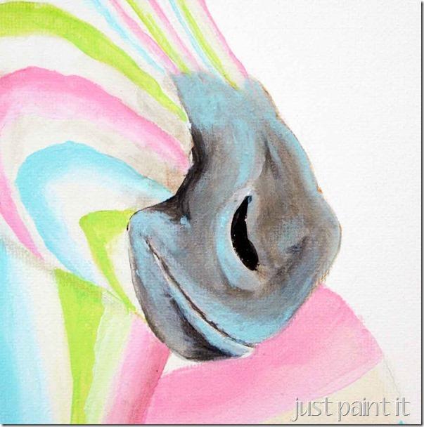 Zebra-Painting-F
