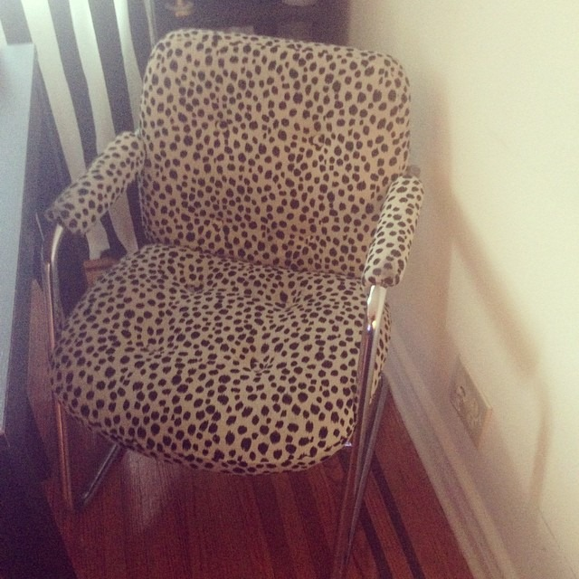 thriftscorethursday casacavaliere milo baughman leopard chair