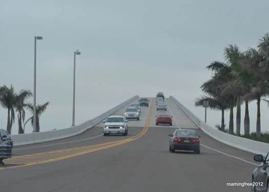 The causeway to Sanibel & Captiva