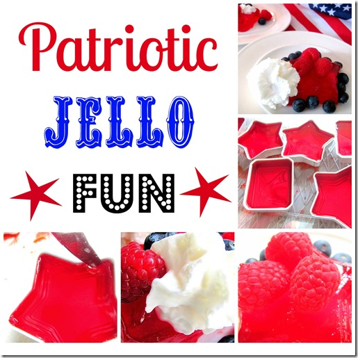 Patriotic Jello Collage