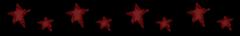 red stars divider