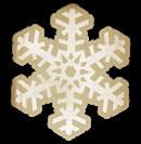 Florabella Snowflake Sticker