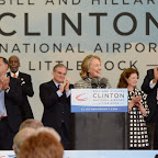 Dedication of the Bill and Hillary Clinton Airport