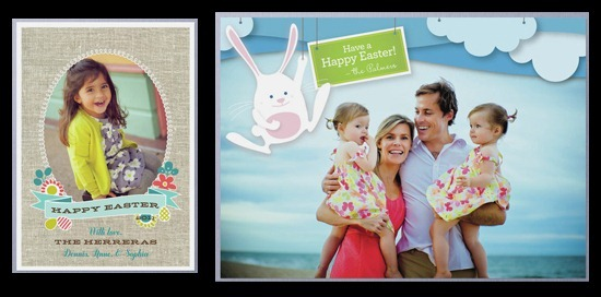 My favorite Easter card designs