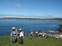 Walking on Rathlin Island