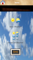 Screenshot of World's Weather Forecast