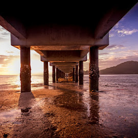 Under the Bridge by Arul Aruleswaran - Buildings & Architecture Bridges & Suspended Structures