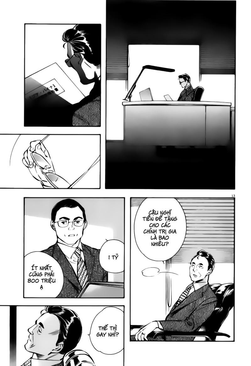 Shin Kurosagi - Con Diệc Đen 2 chap 196 - Trang 13