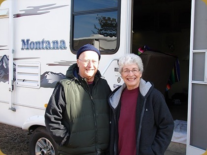 Doug & JoAnn camped at Rainbow