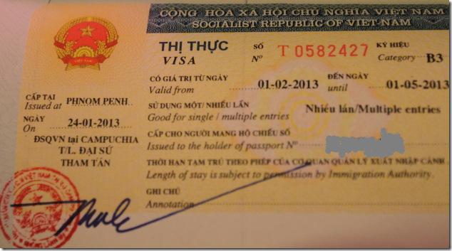 Vietnam Visa from Phnom Penh, Cambodia