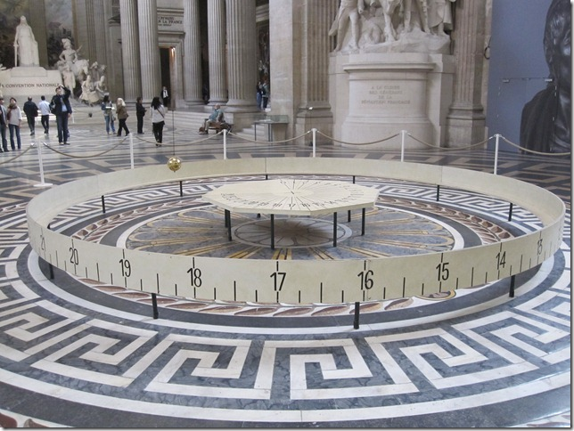 The Original Foucault Pendulum (restored)