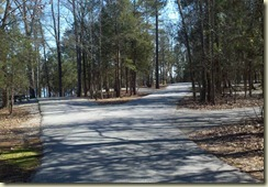 Road and Campsites