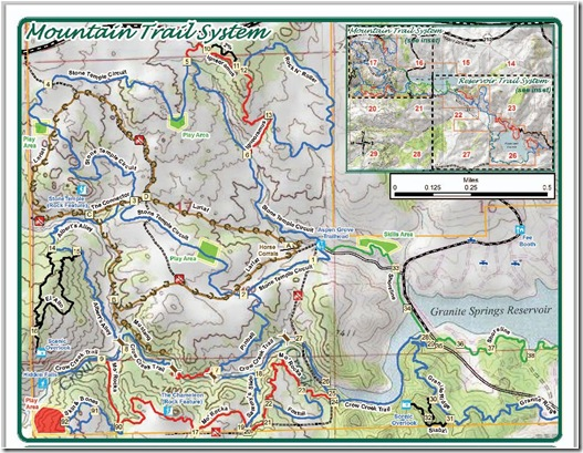 Curt Gowdy Trail Map