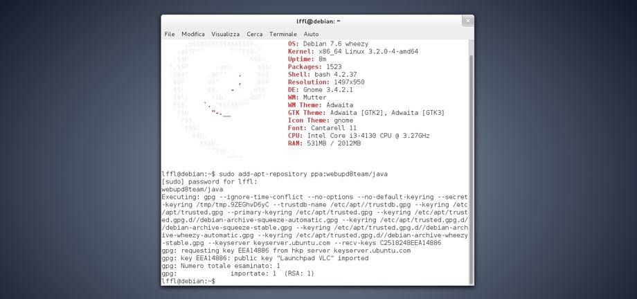 Debian add-apt-repository
