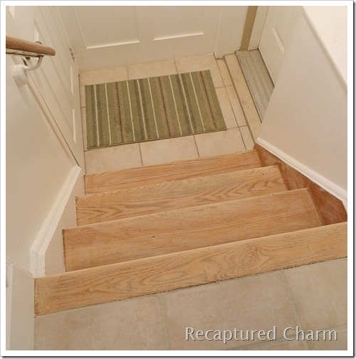 Stairs refinished 010a