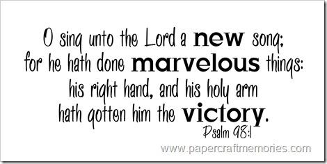 Psalm 98:1