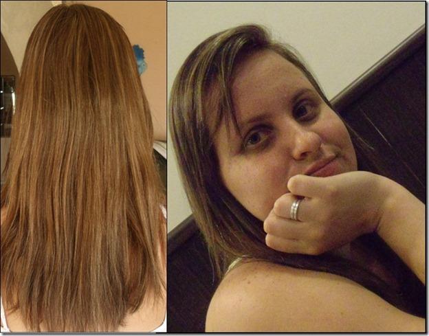 O cabelo não passou no teste de mecha para descoloração!!