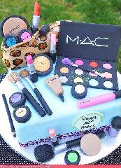 M.A.C. cake…