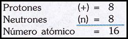 ejemplo numero atomico