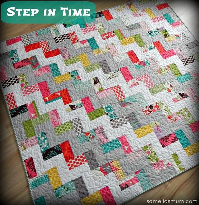 Step in Time Quilt Tutorial