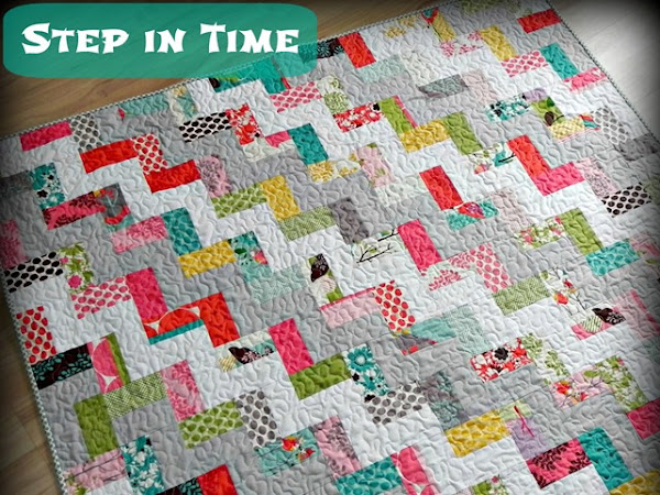 Step in Time Quilt {Tutorial}