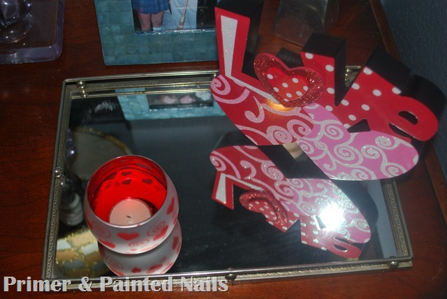 Love Nightstand (4) - Primer & Painted Nails
