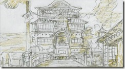 Spirited Away Storyboard