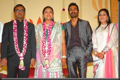 selvarghavan wedding reception1