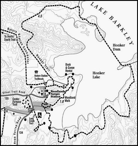 00 - Honker's Trail Map