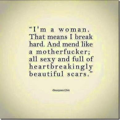 full of scars