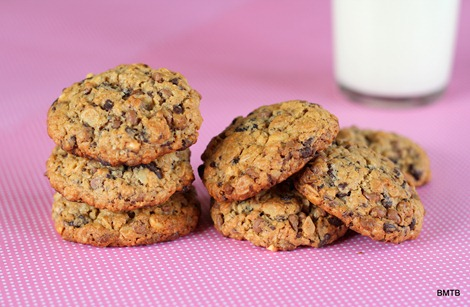 Nutty Oat Cookies