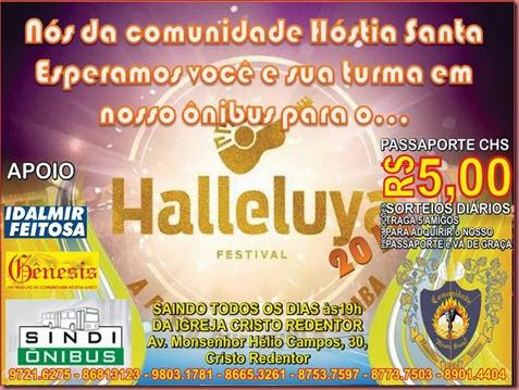 Ônibus Halleluya 2014 Cartaz Power